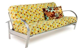Our metal Futons are very sturdy, and easy to move- not like the old Hide a Bed!