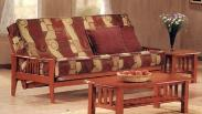 Hardwood futons available in Twin, Full and Queen size