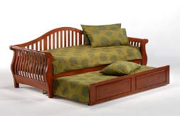 Day Bed with Optional Trundle, 'Pop up' Trundles are also available